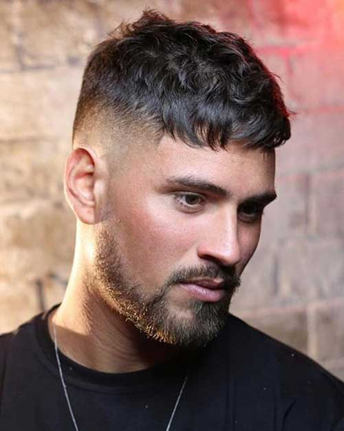 textured crop messy short haircuts for men