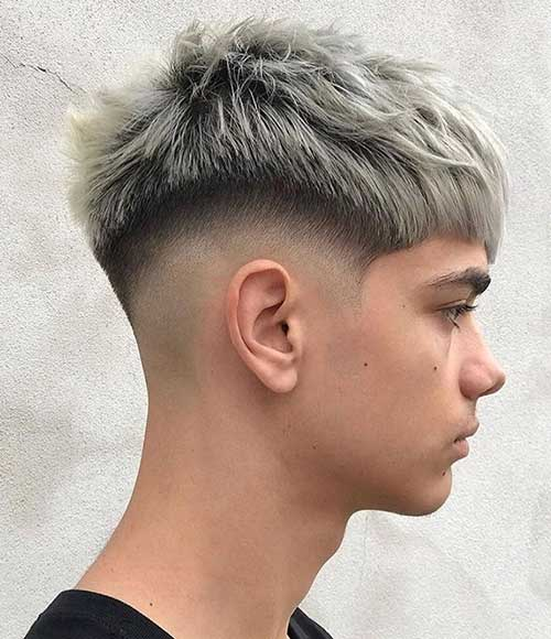 textured crop mid fade short haircuts for men