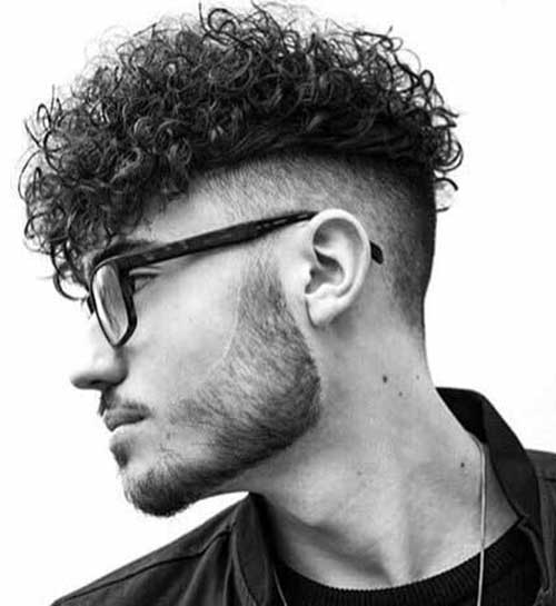 undercut messy curly hairstyles