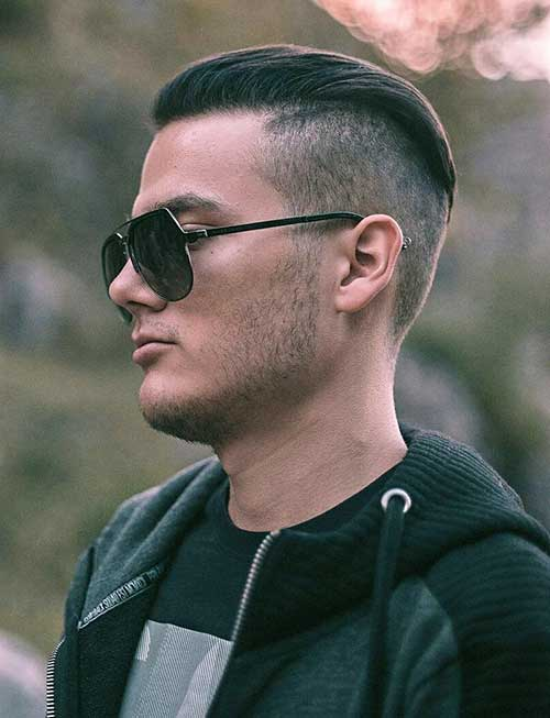 undercut short haircut for men 3