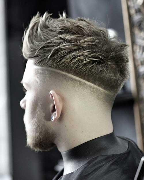 bald fade with textured crop 1