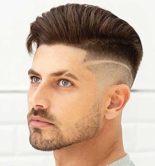 comb over undercut fade 2