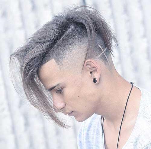 long length undercut fade haircuts 1