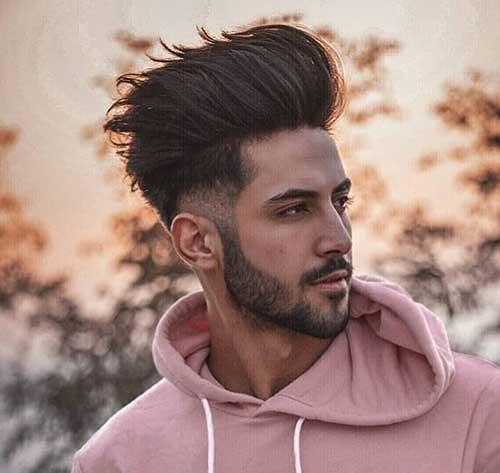 long length undercut fade haircuts 2