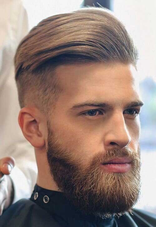 slicked back undercut fade haircuts 1