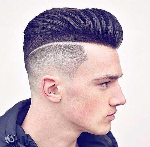 slicked back undercut fade haircuts 3