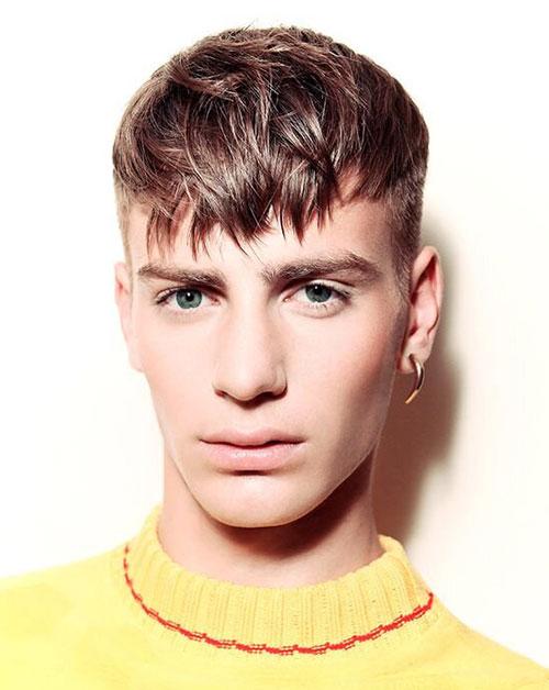 textured caesar haircut 17