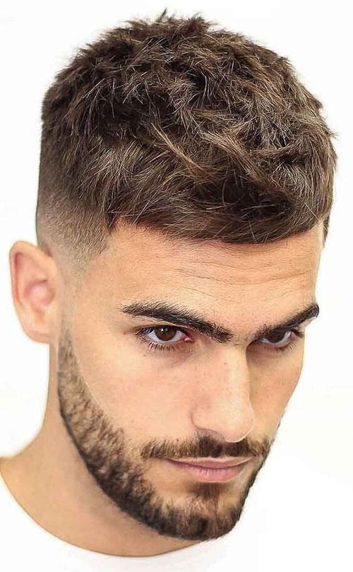 textured caesar haircut 21