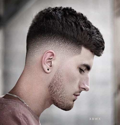 drop fade with fringe