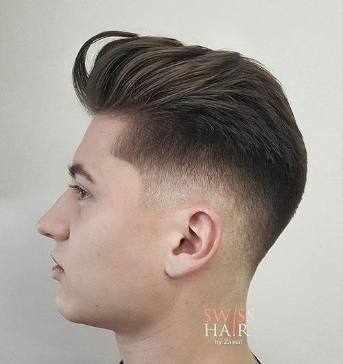 comb back low fade 503