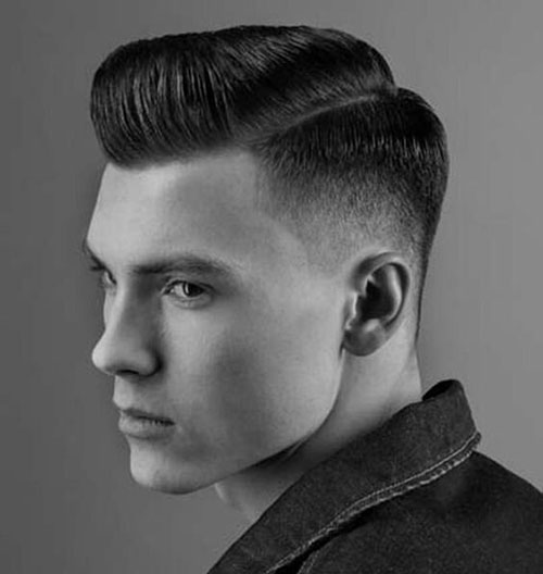 classic comb over low fade 515