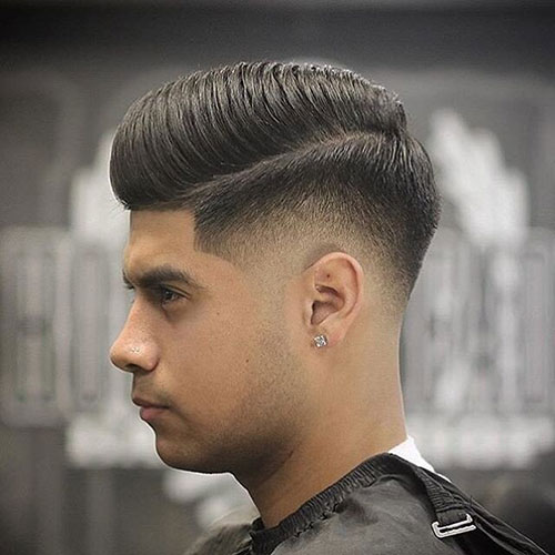 modern comb over low fade 536