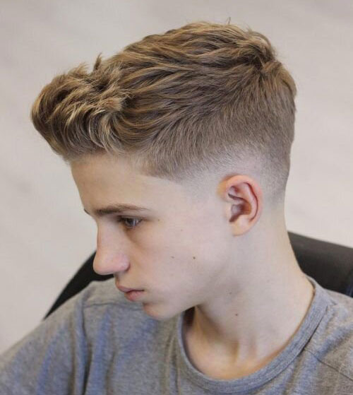 messy low fade 542