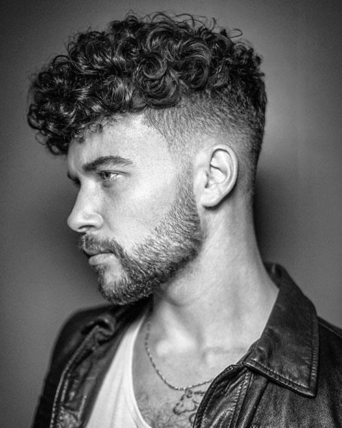 wavy & curly undercut 501