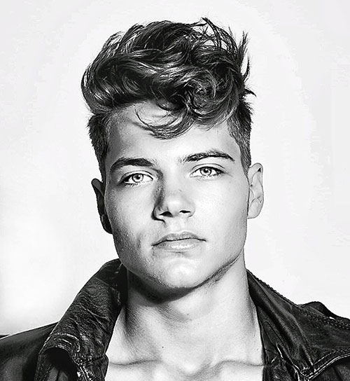 wavy hairstyles for men 104