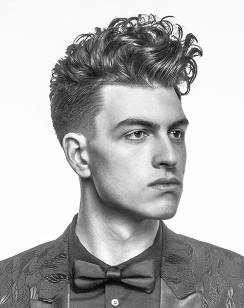 wavy hairstyles for men 107