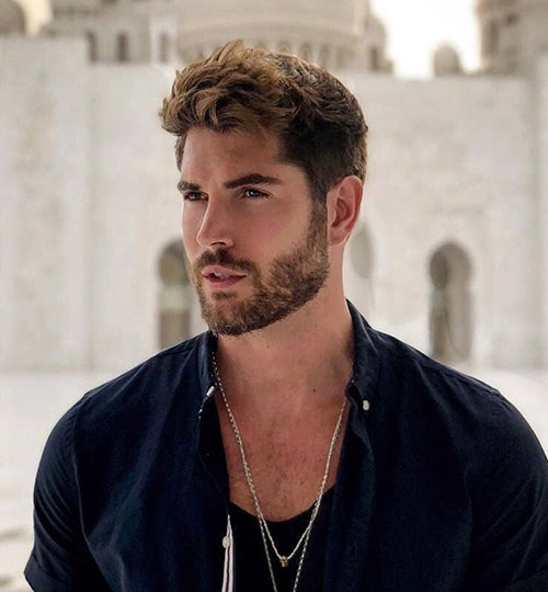 wavy hairstyles for men 111