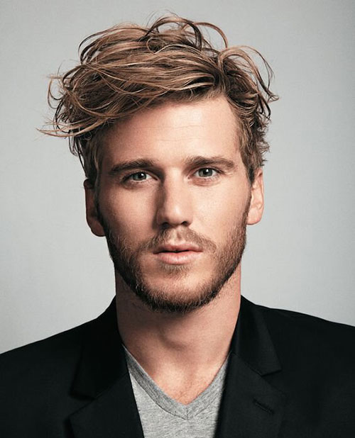 wavy hairstyles for men 145