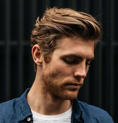 wavy hairstyles for men 146