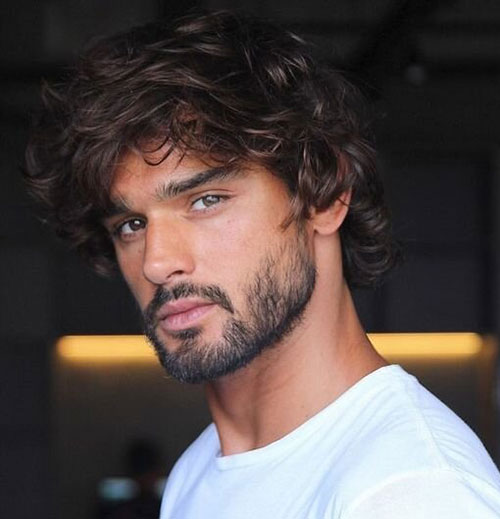wavy hairstyles for men 159