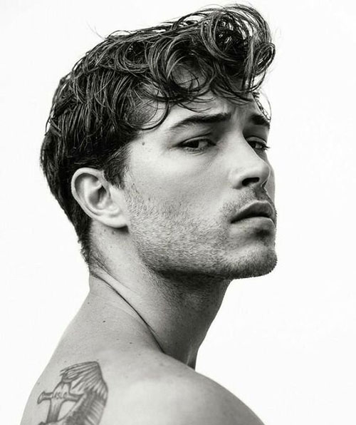 wavy hairstyles for men 161