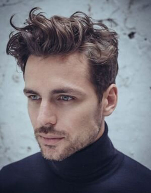 wavy hairstyles for men 162
