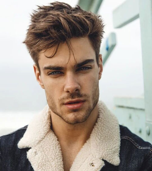 wavy hairstyles for men 163