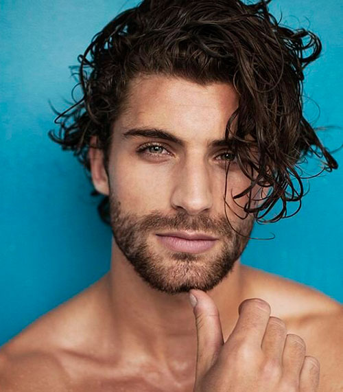 wavy hairstyles for men 169