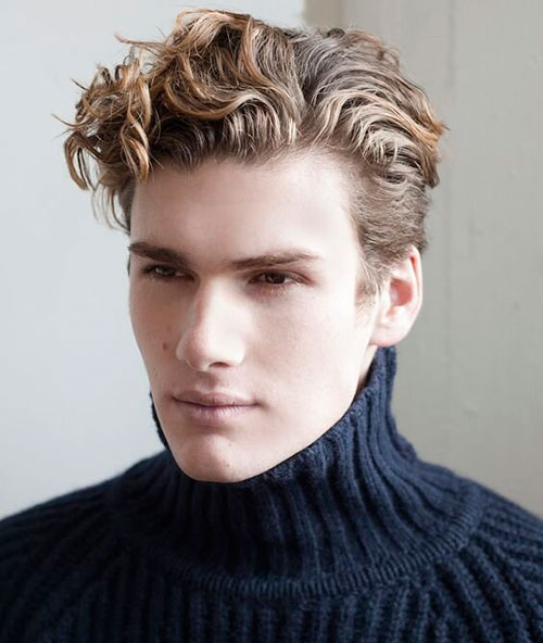 wavy hairstyles for men 171
