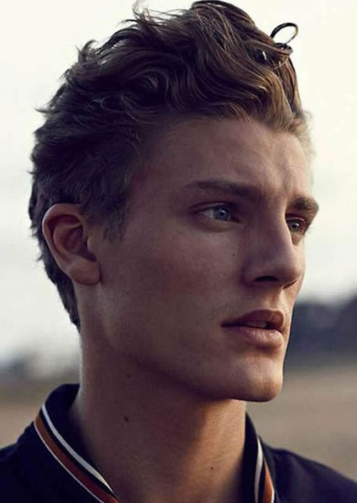 wavy hairstyles for men 172