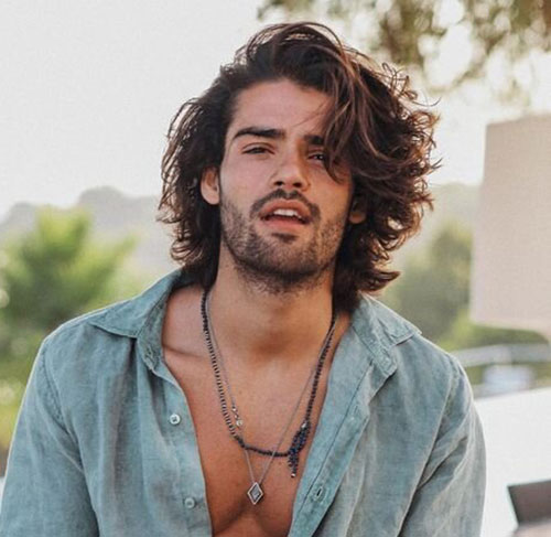 wavy hairstyles for men 175