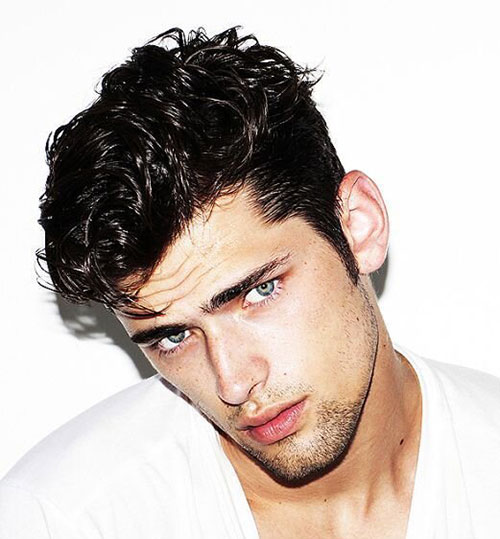 wavy hairstyles for men 183