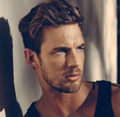 wavy hairstyles for men 184
