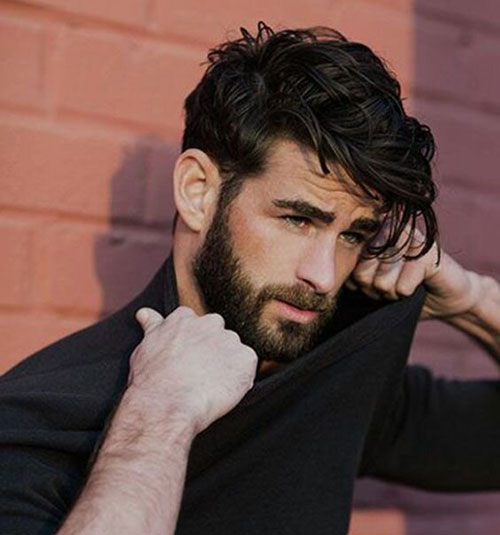 wavy hairstyles for men 186