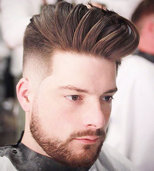 skin fade with quiff 123