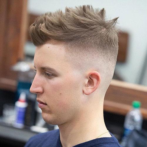 faux hawk haircut 1