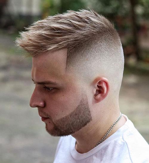 faux hawk haircut 12