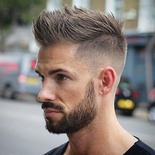 faux hawk haircut 15