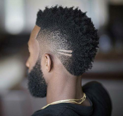 faux hawk haircut 19