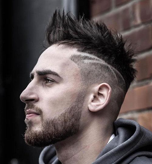 faux hawk haircut 2