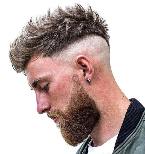 faux hawk haircut 22