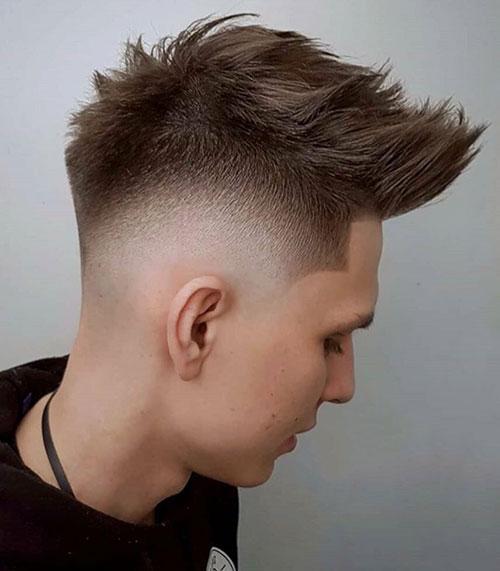 faux hawk haircut 27