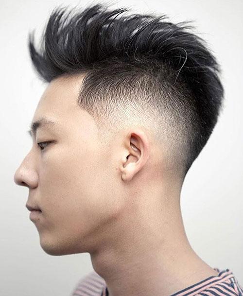 faux hawk haircut 30