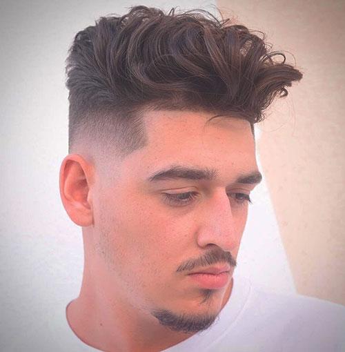 faux hawk haircut 31