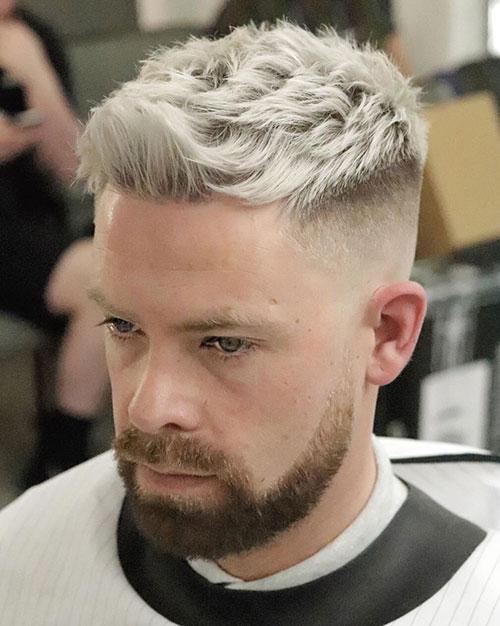 faux hawk haircut 32