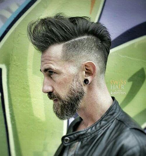 faux hawk haircut 5
