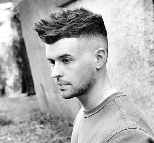 faux hawk haircut 8