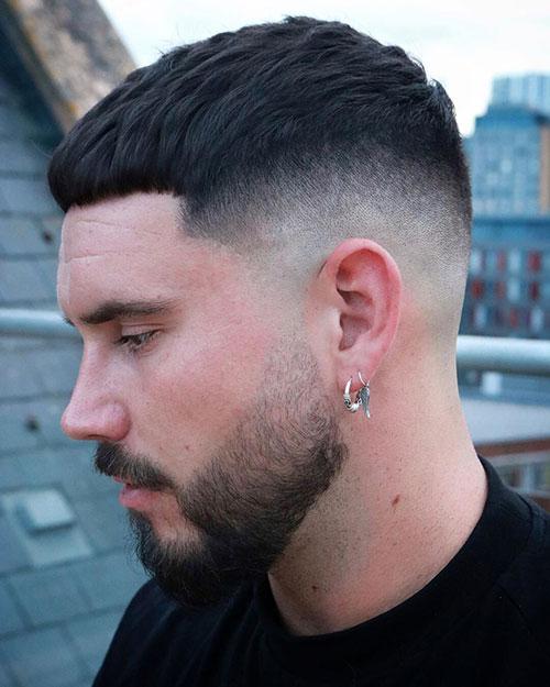 mid fade haircut 125