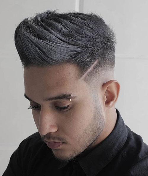 mid fade haircut 130