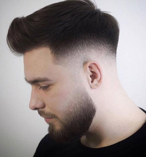 mid fade haircut 137